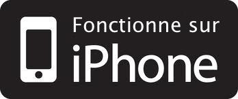 Fonctionne avec iphone