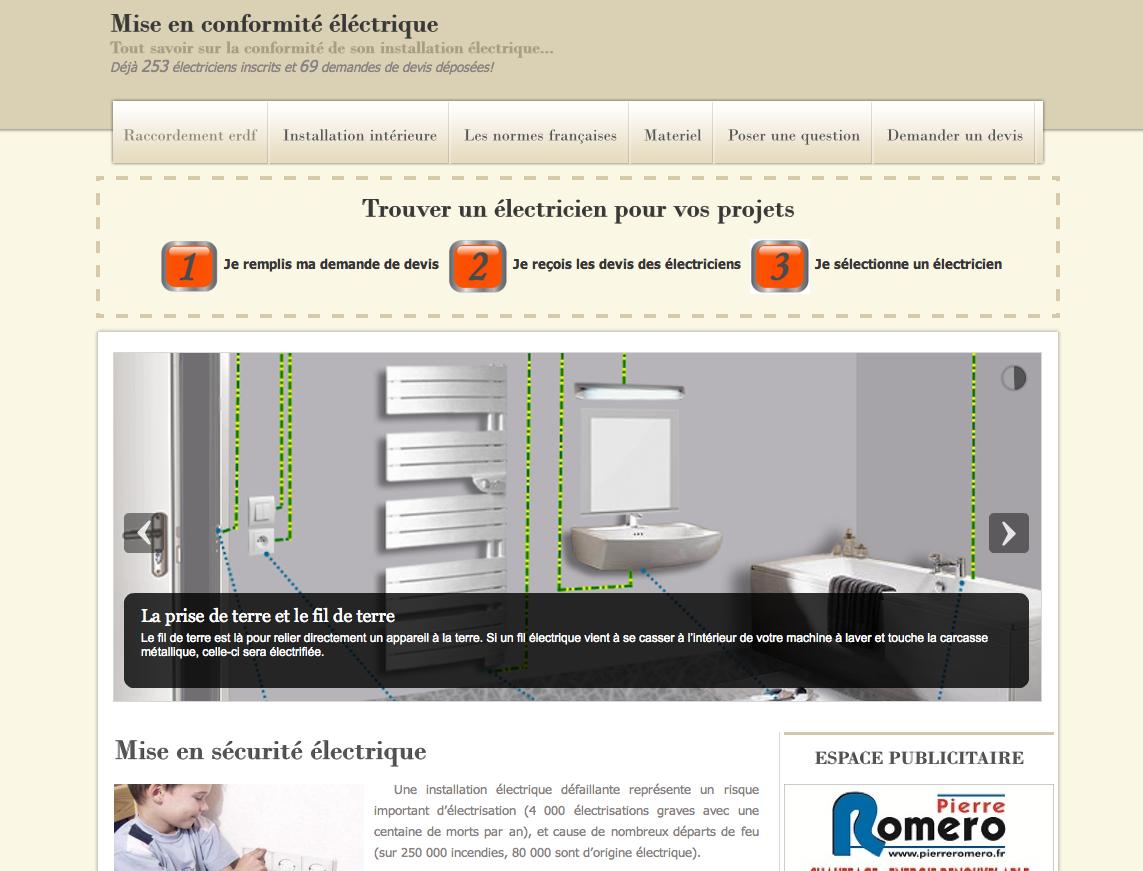 mise en conformit lectrique webdesign entreprise. Black Bedroom Furniture Sets. Home Design Ideas