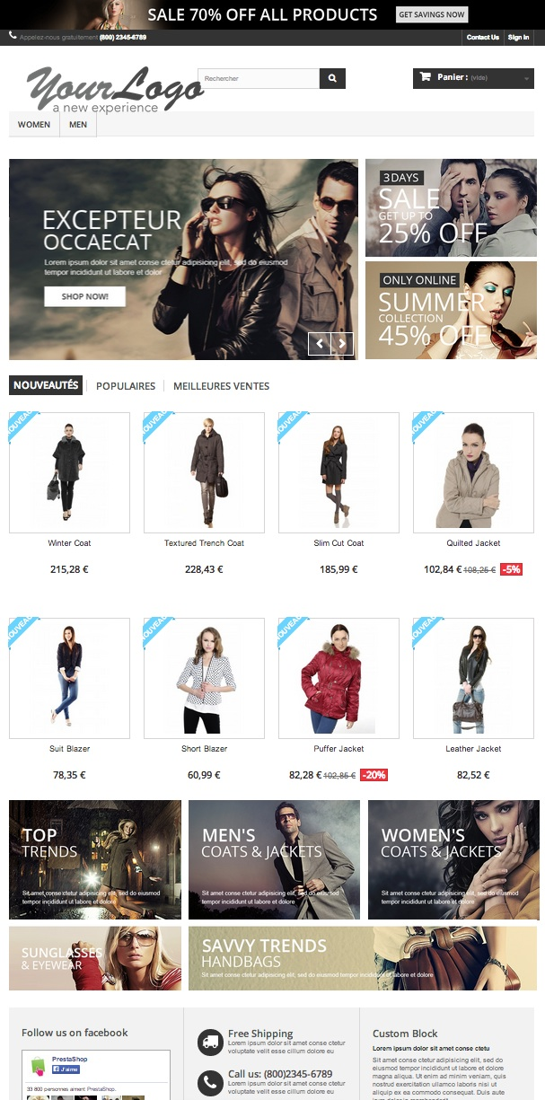front-office-prestashop-1-6
