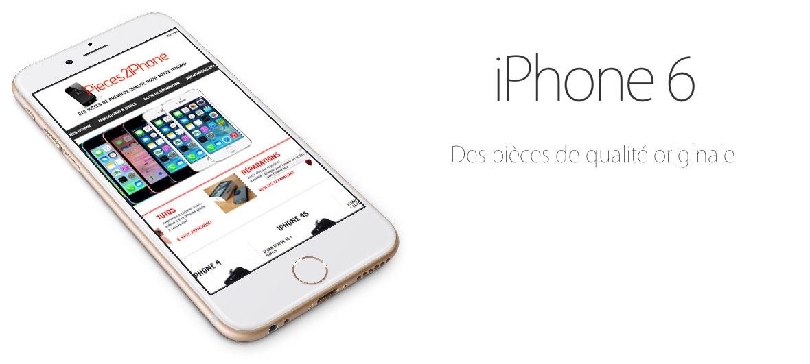 Pièces détachées iPhone 6